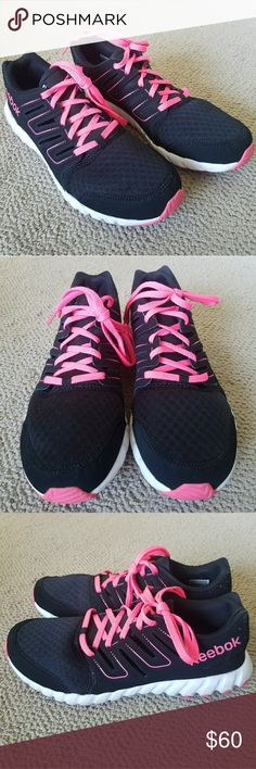 Woman's Reebok Woman's Reebok. SO nice just don't wear them . I believe they have memory foam insoles . Reebok Shoes Athletic Shoes