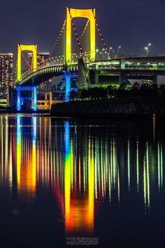 Beautiful Nature Wallpaper, Beautiful Moon, Beautiful Places, Iphone Wallpaper Underwater, Rainbow Waterfall, Night Scenery, Tokyo Night, Somewhere In Time, Japanese Landscape