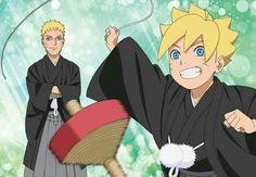 Naruto x Boruto Uzumaki Family, Naruto Family, Anime Family, Boruto Naruto Next Generations, Kurama Susanoo, Boruto And Sarada, Madara Uchiha, Hinata Hyuga, Anime Films