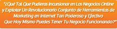conjunto de herramientas de marketing más revolucionario del mercado hispano! Ver más