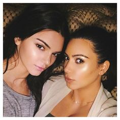 Kendall Jenner & Kim Kardashian-West