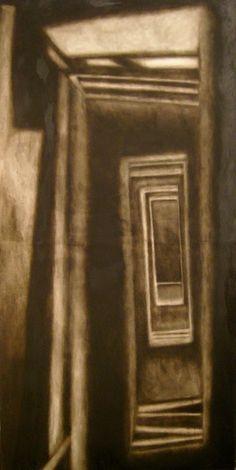 Enter  Oil on canvas  © Patricia Benitez