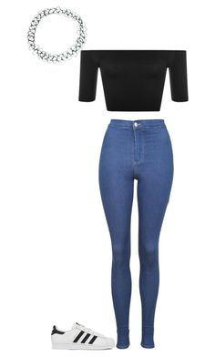 """""""Untitled #79"""" by brittney348 on Polyvore featuring ASOS, Topshop and adidas"""