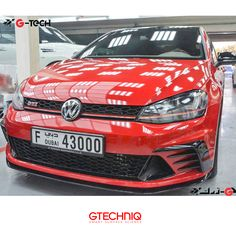 #Volkswagen #Golf GTI Protected by Gtechniq and #Gtechniq Stockist Gtech 🌐 PROTECT THE THINGS YOU LOVE .إحمى كل ما تحب