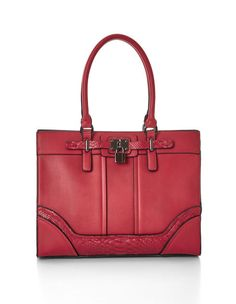 You'll love the sophisticated mix of solid and textured elements this bag has with its double strap handles and large interior space for storing all of your essenti Canadian Contests, How To Look Better, Cool Outfits, Nice Clothes, Purses, My Style, Giveaways, Womens Fashion, Fashion Ideas