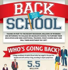 Back to School: Adults and Higher Education- and this doesn't include non-traditional training programs like Virtual Assistant Survival School- http://vasurivivalschool.com