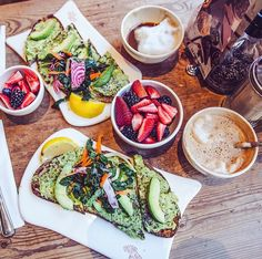 Le pain Quotidien - breakfast in NYC
