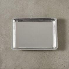 vienna stainless steel tray | CB2