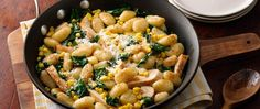 This easy gnocchi skillet comes together quickly in a single pan!