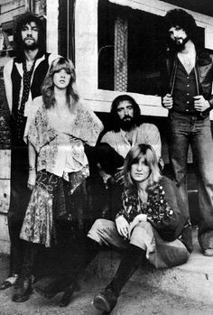 Fleetwood Mac - one of my all time favorites... Always was a gypsy at heart!