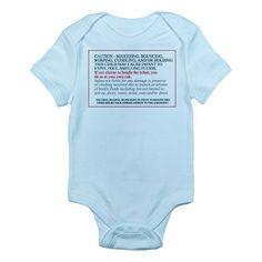 Legal disclaimer Infant Onesie