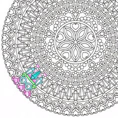 #Opal Essence #printable #coloringpage #foradults by #CandyHippie