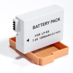 2 Pack LP-E8 LPE8 Equivalent Battery for Canon EOS Rebel 550D, Rebel T2i . $2.56. Compatible with: Replaces: CANON LP-E8, LPE8. Fits into: Canon EOS Series: EOS 550D, EOS-1D Kiss X4, EOS Rebel T2i Feature: Latest lithium-ion battery technology. 100% Compatible with original manufacturer equipments. High capacity premium Japanese cell. Absolutely no memory effect. Low impedance battery design. Best replacement battery Canon LP-E8.