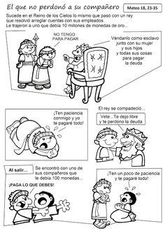 El Rincón de las Melli: HISTORIETA: El que no perdonó a su compañero (text... …