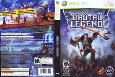 Brutal Legend, Xbox Live, Comic Books, Games, Young Adults, Gaming, Cartoons, Comics, Comic Book