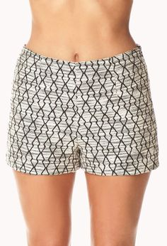 Standout Geo Shorts | FOREVER21 Essential shorts for the fall season! Shorts Geo