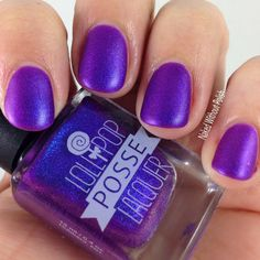 Lollipop Posse Lacquer A Party for Calming All Your Nerves