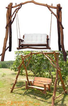 Balancelle de jardin en teck huilé 184 cm - Maison Facile : www ...
