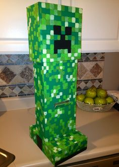 Minecraft Valentines Day box 2013