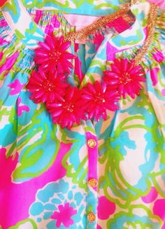 Lilly and statement necklace