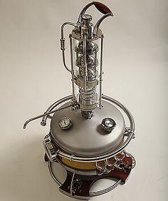 Дорогой самогонный аппарат коптильня горячего копчения из нержавейки купить в спб