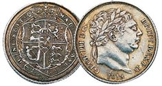 George III Silver Sixpence 1816-20        These silver sixpences struck with the King on the obverse and shield in garter on the reverse are dated between 1816 and 1820 are in fine to VF condition.     £49