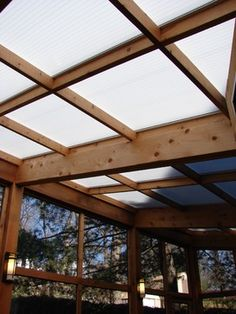 Clear Corrugated Polycarbonate Awning Design Ideas, Pictures, Remodel and Decor
