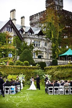 People are idiots  Nice picture for a wedding all it is!  Hatley Castle Ceremony
