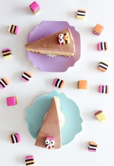 Liquorice all sorts critters and chocolate pumpkin cheesecake || Baking with Gab