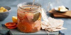 Syltet laks med klementiner Vegetables, Food, Veggies, Essen, Vegetable Recipes, Yemek, Meals