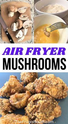 Air Fryer Recipes Appetizers, Air Fryer Recipes Vegetables, Air Fryer Recipes Vegetarian, Air Fryer Oven Recipes, Air Fry Recipes, Air Fryer Dinner Recipes, Side Dish Recipes, Veggie Recipes, Veggies