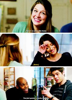 """""""I chose to come back because I realized that I belong here, with you, my family. I guess it's true."""" #Supergirl #Season1 #1x13"""