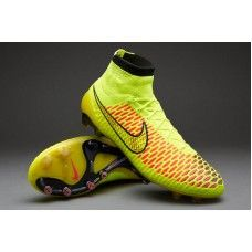 2015 Best Seller New Magista Obra Flyknit Soccer Shoes FG Volt Metallic  Gold Coin b9c08ce111409