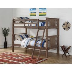 Princeton Twin over Twin Bunk Bed | Wayfair