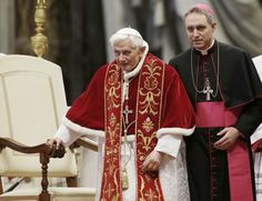 Benedict XVI's aide: 2014 World Cup led to his leaving