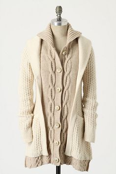 cc0a01fee24a Fisherman's Companion Sweatercoat by Sleeping on Snow Sweater Coats,  Sweaters, Cardigans, Dressing Room. Anthropologie
