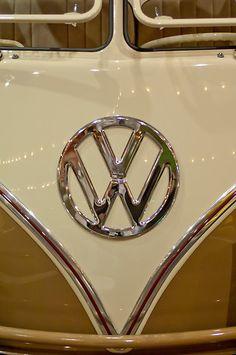 1965 Volkswagen VW Samba Bus Emblem by Jill Reger