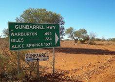 The Gunbarrel Highway in Western Australia - Literally in The Middle of Nowhere