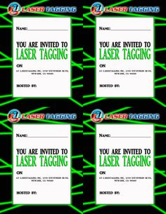 Party invitations laser tag by ellie b 7th birthday pinterest party invitations laser tag by ellie b 7th birthday pinterest party invitations laser tag party and birthdays stopboris Choice Image