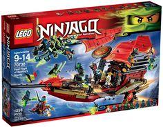 LEGO Ninjago 70738 Final Flight of Destiny's Bounty Building Kit Toys R Us, Kids Toys, Lego Ninjago, Lego Duplo, Lego City, Ghost Armor, Lego Marvel, Lego Batman, Spiderman