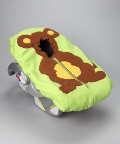 Kangaroo Car Seat Cover by Madeline and Company #zulily #zulilyfinds