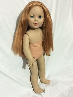 Madame-Alexander-Doll-18-Red-Strawberry-Blonde-Hair-Emerald-Green-Eyes-2011