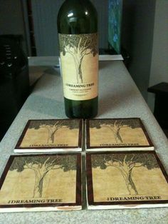 Dreaming Tree DMB Coasters  Can be Customized by GorgeousGlassware, $10.00