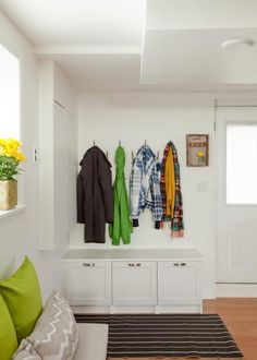 Neither snow nor rain nor sleety nights can keep us from living our busy lives. But that doesn't mean our entryways have to look like a hazard zone. Find out how to prep your foyer and mudroom for the seasonal onslaught of wet-weather gear.