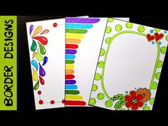 Latest Easy Paper Border Designs Flowers If you are looking for Easy paper border designs flowers you've come to the right place. We have collect images about Easy paper border designs flower. 12 Best Boarders For Word Images Page Borders Borders Frames Front Page Design, Front Cover Designs, Boarder Designs, Page Borders Design, Doodle Borders, Borders For Paper, Cool Background Designs, Page Decoration, Drawing Frames