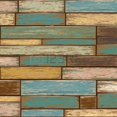 Old color wooden texture background vector illustrator Stock Vector - 13427839