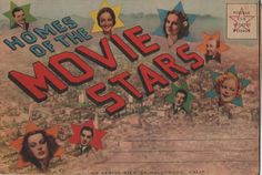 old Hollywood postcard. Hagins collection.