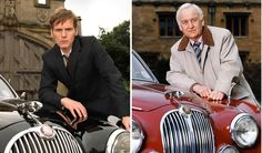 Shaun Evans and John Thaw as Endeavour Morse