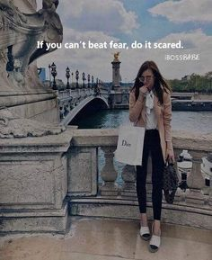 Feel the fear and do it anyways!