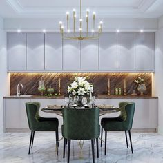 """"""""""" Dining Room Chandelier Ideas """""""" Excellent dining room table lamp ideas tips for 2020 """""""" Dining Room Lamps, Luxury Dining Room, Dining Room Design, Luxury Living, Room Interior, Interior Design Living Room, Living Room Decor, Wall Lamps, Küchen Design"""